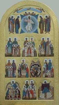 Byzantine Icons, Orthodox Icons, Santa, Actors, Painting, Antiquities, Painting Art, Paintings, Painted Canvas