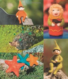 Wool Toys and Friends: Step-by-Step Instructions for Needle-Felting Fun: Laurie Sharp, Kevin Sharp