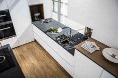 natursteinarbeitsplatte als k chenarbeitsplatte von strasser steine im leather look keine. Black Bedroom Furniture Sets. Home Design Ideas
