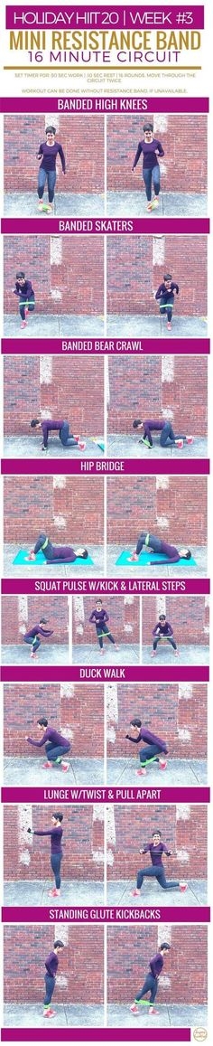 Mini Resistance Band Circuit | Burpees for Breakfast