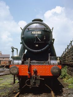 Ex LMS 8f at Coalville shed 7 June 1965 (Bill Wright)