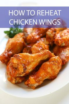 Don't know how to reheat chicken wings and enjoy them as much as the first time? We've got the details on how to enjoy your leftovers. Wings In The Oven, Crispy Chicken Wings, Chicken Wing Recipes, Yum Yum Chicken, Love Food, Dinner Recipes, Cooking, Kitchen