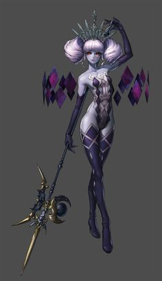 on fantasy character concept in 2019 Final Fantasy, Fantasy Anime, Dark Fantasy Art, Fantasy Girl, Fantasy Artwork, Female Character Design, Character Design References, Character Design Inspiration, Character Concept