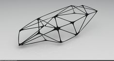 This is an extrapolation of work done in the previous post on parametric joinery. By applying similar sorting logic to struts between joints a single… Parametric Architecture, Parametric Design, Space Truss, Truss Structure, Steel Trusses, Organic Structure, Pavilion Design, Space Frame, Digital Fabrication