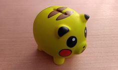 Pikachu Piggy Bank by FuzzBird on Etsy https://www.etsy.com/listing/205266192/pikachu-piggy-bank