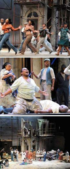 """Representació de l'òpera """"Porgy and Bess"""", de George Gershwin, al Gran Teatre del Liceu BCN (juliol 2014)"""