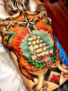 """ship tattoo"" - dynamic!!! ~:^)>"