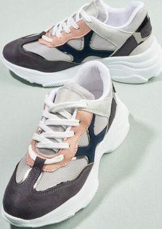 Bambi marka vizon, lacivert spor ayakkabı modeli Bambi, Balenciaga