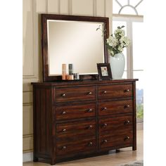 Picket House Furnishings Dawson Creek 6 Drawer Dresser