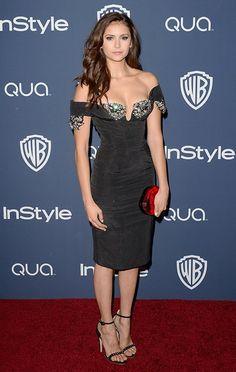 Nina Dobrev Golden Globes After Party - http://oceanup.com/2014/01/14/nina-dobrev-golden-globes-after-party/