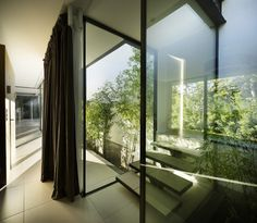 Image 1 of 24 from gallery of CTN House / Brengues Le Pavec architectes. Photograph by Marie-Caroline Lucat Cabinet D Architecture, Architecture Art Design, Residential Architecture, Amazing Architecture, Home Design, Home Building Design, Building A House, Farnsworth House, Open Space Living