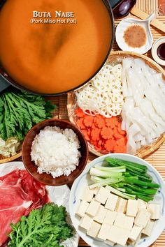 This quick and easy Buta Nabe (Pork Miso Hot Pot) can be put together in 30…