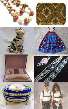 Vintage Vogue Beauties by openslatecollectible on Etsy--Pinned with TreasuryPin.com