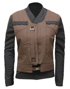 Star Wars Rogue One Jyn Erso Womens Jacket with Vest at Amazon Women's Coats Shop