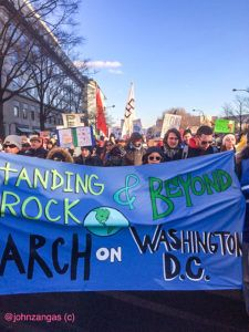 Standing Rock Sioux March on Washington, DC