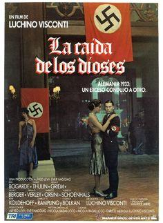 LA CAIDA DE LOS DIOSES (GUIA ORIGINAL CON FOTOS) DIRECTOR LUCHINO VISCONTI - Foto 1