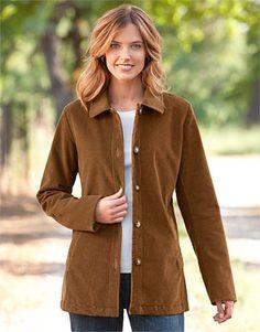 Corduroy Jacket for Women - Stretch Cord Belmont Coat -- Orvis on Orvis.com!