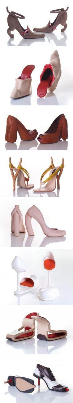 Zapatos diferentes modelos e ideas