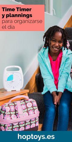 En esta sección te presentamos distintos Time Timer y plannings para organizarse mejor los días y las semanas del niño. Gracias a estas herramientas, los niños aprenden y comprenden el paso del tiempo y a situarse en él. Los Timer pueden igualmente aportar serenidad en los cambios del día y reducir el estrés ante lo desconocido. Permiten desarrollar la organización y la autonomía. Time Timer, Planning, Organiser, Education, Visual Aids, Kids Learning, Getting Organized, Serenity, Autism