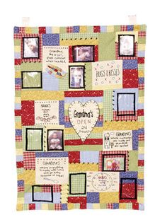GRANDMA PHOTO QUILT WALL HANGING