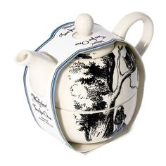 Official Alice in Wonderland Tea for One Set - Teapot and Cup Gift Boxed #AliceinWonderland