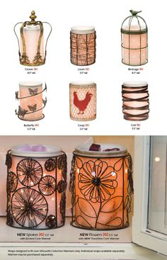Love the New 2014 Scentsy Silhoutte Collection.  So elegant and looks amazing at night or during the day. Buy Scentsy Silhouette now $40 http://www.believewickless.com/products/83-scentsy-warmers