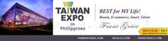 Franc Grâce in 「 Taiwan EXPO 2017」, Philippines - Franc Grâce Beauty E-commerce, 9/29-10/1 (Booth 81)   SMX Convention Center, Manila Main Lobby & Hall 1 & 2