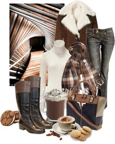 """""""coffee and cookies"""" by sagramora on Polyvore"""