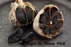 Propiedades medicinales del ajo negro.   Ajo Negro, sano y natural