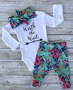 A personal favorite from my Etsy shop https://www.etsy.com/ca/listing/461811936/floral-baby-girl-clothes-baby-girl