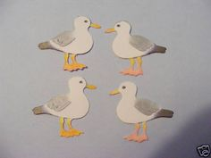 Sea Gull Seagulls Gulls Bird Tern Watching Seaside Holiday Die Cuts | eBay