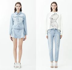Christopher Kane 2014 Resort Womens Presentation - Cruise Collection Pre Spring: Designer Denim Jeans Fashion: Season Collections, Runways, Lookbooks and Linesheets