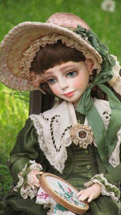Original Handmade Collectible Doll Nastyenka – buy online on Livemaster with shipping