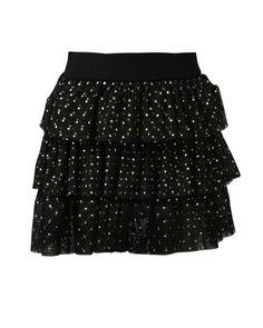 Meisjes rok  van tule met stippendessin en elastiek in de taille. Dit item is onderdeel van 'The Voice Kids' finale collectie. #damesmode #zomercollectie #zomerkledingdames #zomerkleding