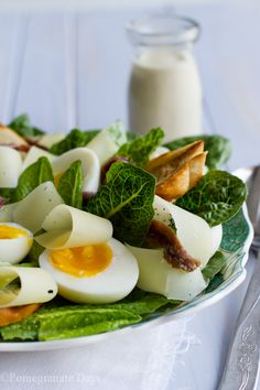 Caesar Salad | Pomegranate Days