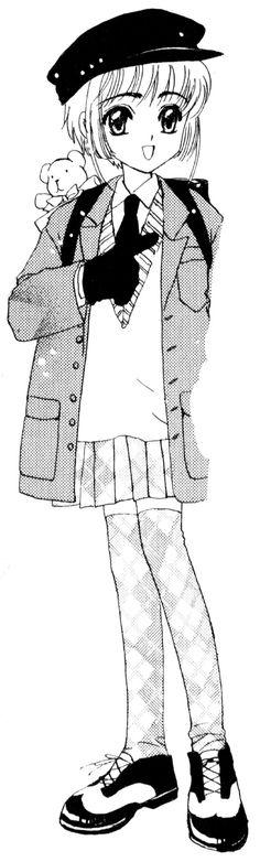 Sakura's outfits from Cardcaptor Sakura #3.