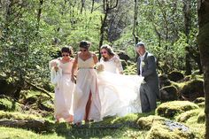 Gougane Barra wedding at Gougane Barra Forest Park, Ireland