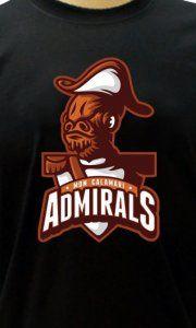 Camiseta Mon Calamari Admirals - Camisetas Personalizadas, Engraçadas e Criativas