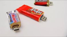 Cute usb drives made with candy!