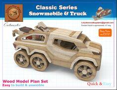 Snowmobile & Truck
