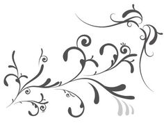 Flourishes! -  lots of flourishes, branches, birds