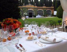 Menu Catering Wedding at Villa La Foce