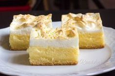 Tvarohový krémeš • recept • bonvivani.sk Czech Recipes, Russian Recipes, Cooking Time, Cooking Recipes, Cream Cake, Desert Recipes, Cake Cookies, Vanilla Cake, Sweet Recipes