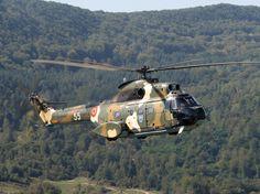 IAR-330L Puma - Romanian Air Force. Copyright Alex Trandafir.