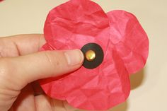 paper poppies | Tally's Treasury