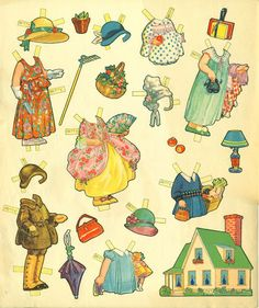 Paper Dolls 180 pieces - Bobe Green - Picasa Web Albums