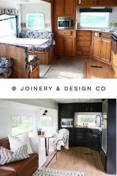 caravan renovation before and after 749990144183747450 - caravan renovation before and after 646055509028085517 – Tour this kid-friendly modern rustic camper remodel from Source by joeannspeck Home, Remodel, Remodeled Campers, Home Remodeling, Joinery Design, Home Renovation, Interior Remodel, Rustic Remodel, Bathrooms Remodel