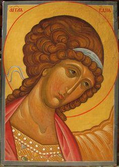 Archangel Gabriel by Natasha Loginova Archangel Gabriel, Archangel Michael, Writing Icon, Peter Paul Rubens, Principles Of Art, Angels Among Us, Albrecht Durer, Religious Icons, Orthodox Icons