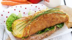 Enkel Osteomelett - Oppskrift fra TINE Kjøkken Frisk, Baked Potato, Sandwiches, Turkey, Potatoes, Chicken, Baking, Breakfast, Ethnic Recipes