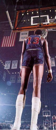 Wilt Chamberlain, Philadelphia 76ers.